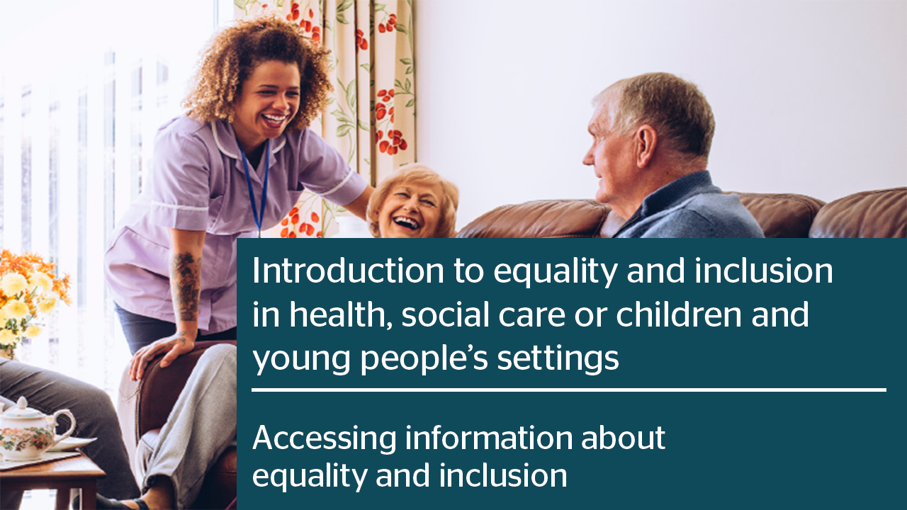 Accessing information about equality and inclusion PDF thumbnail