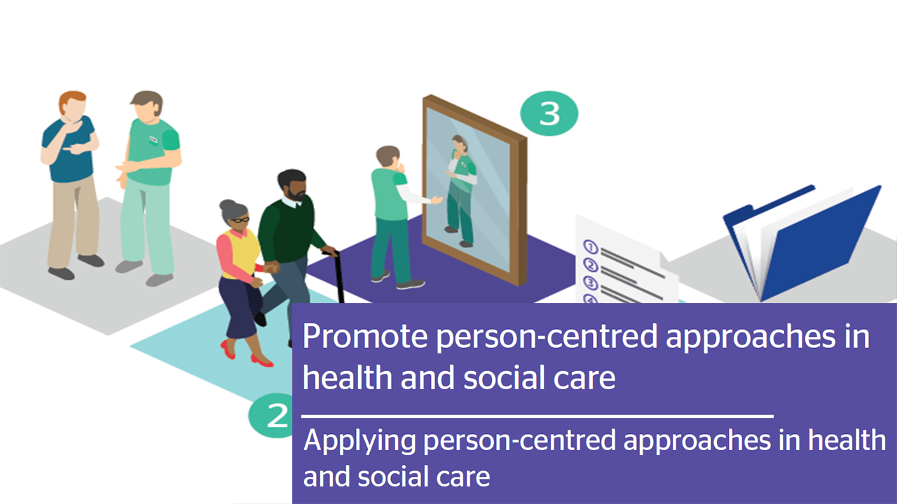 Applying person centred approaches infograph thumbnail