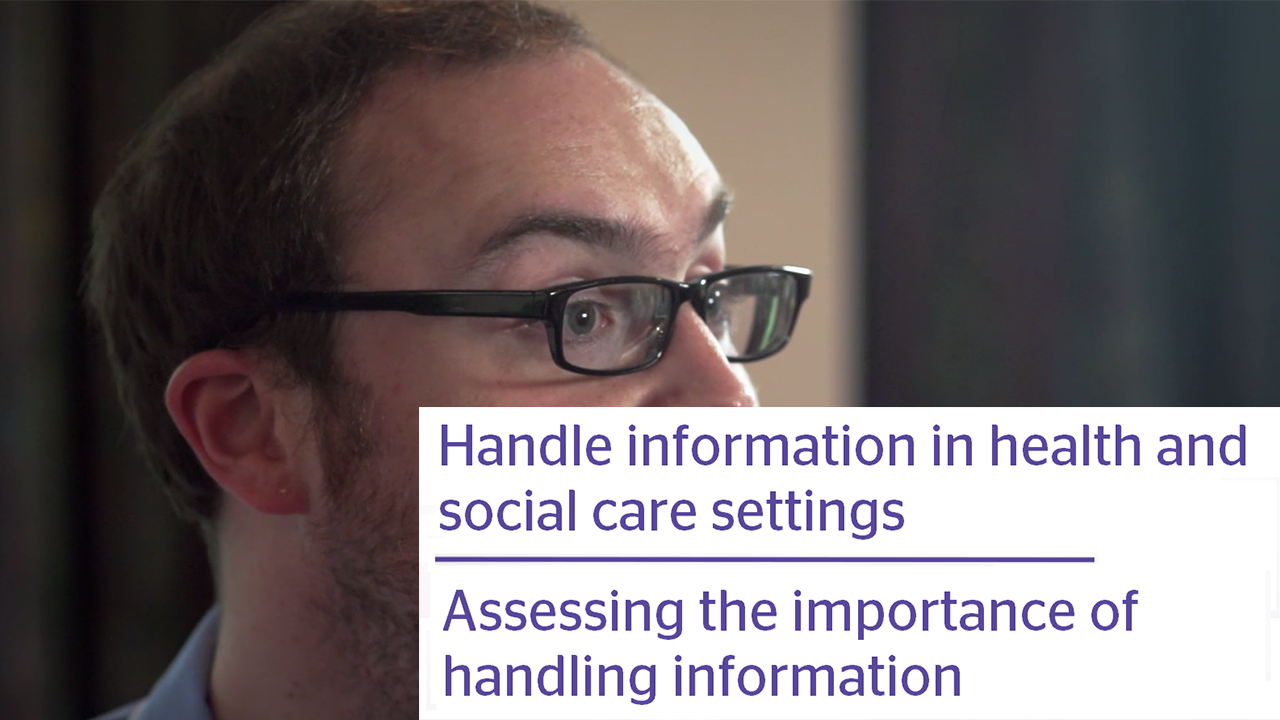 Assessing the importance of handling information Video Thumbnail