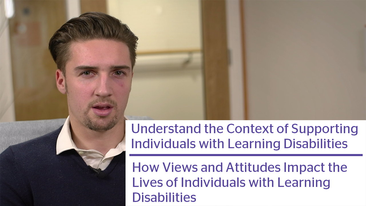How Views And Attitudes Impact The Lives Of Individuals With Learning Disabilities Video Thumbnail