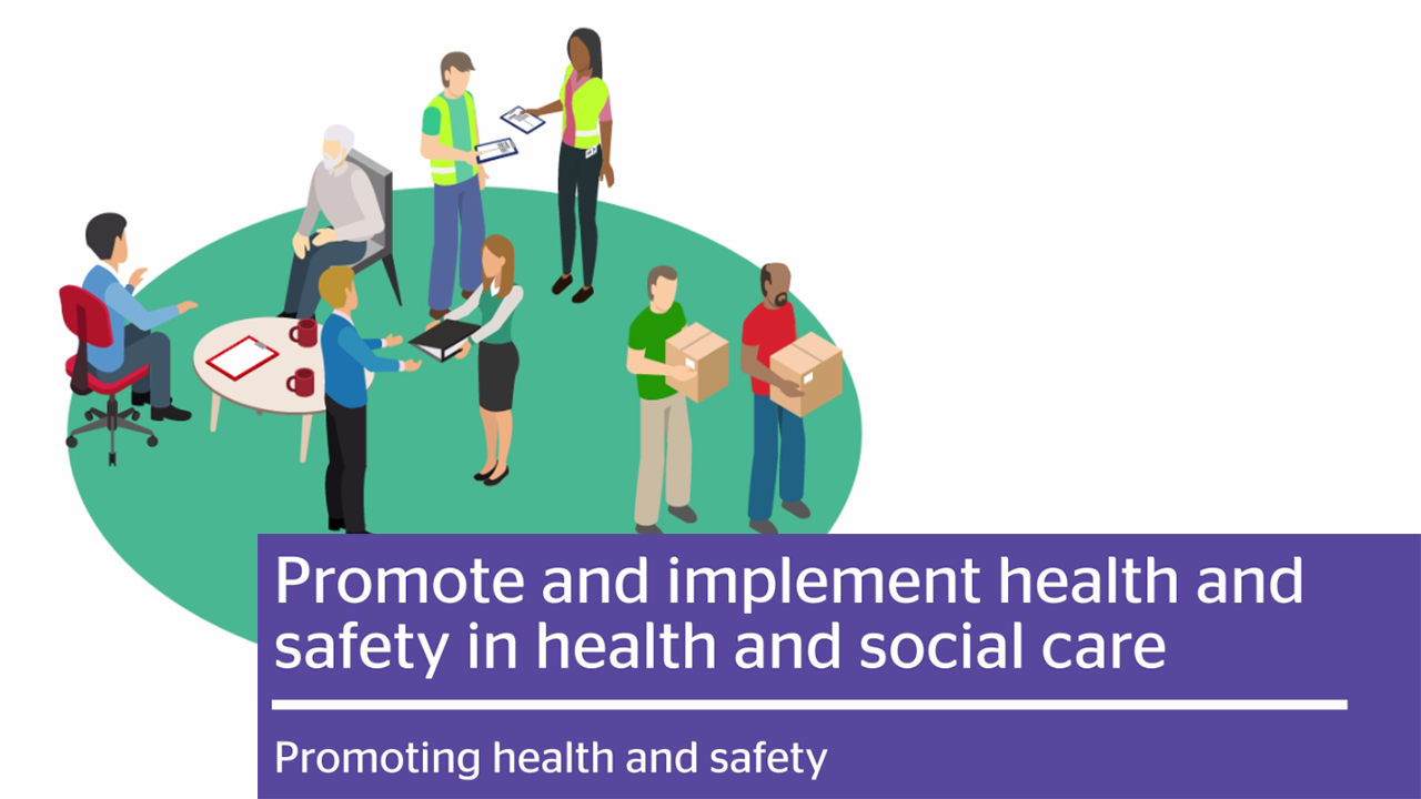 Promoting Health And Safety Graphical Video Thumbnail