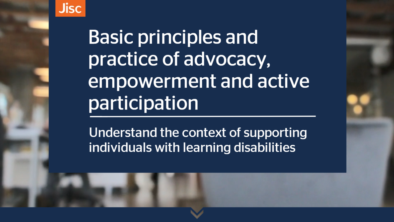 Basic principles and practice of advocacy empowerment and active participation activity thumbnail