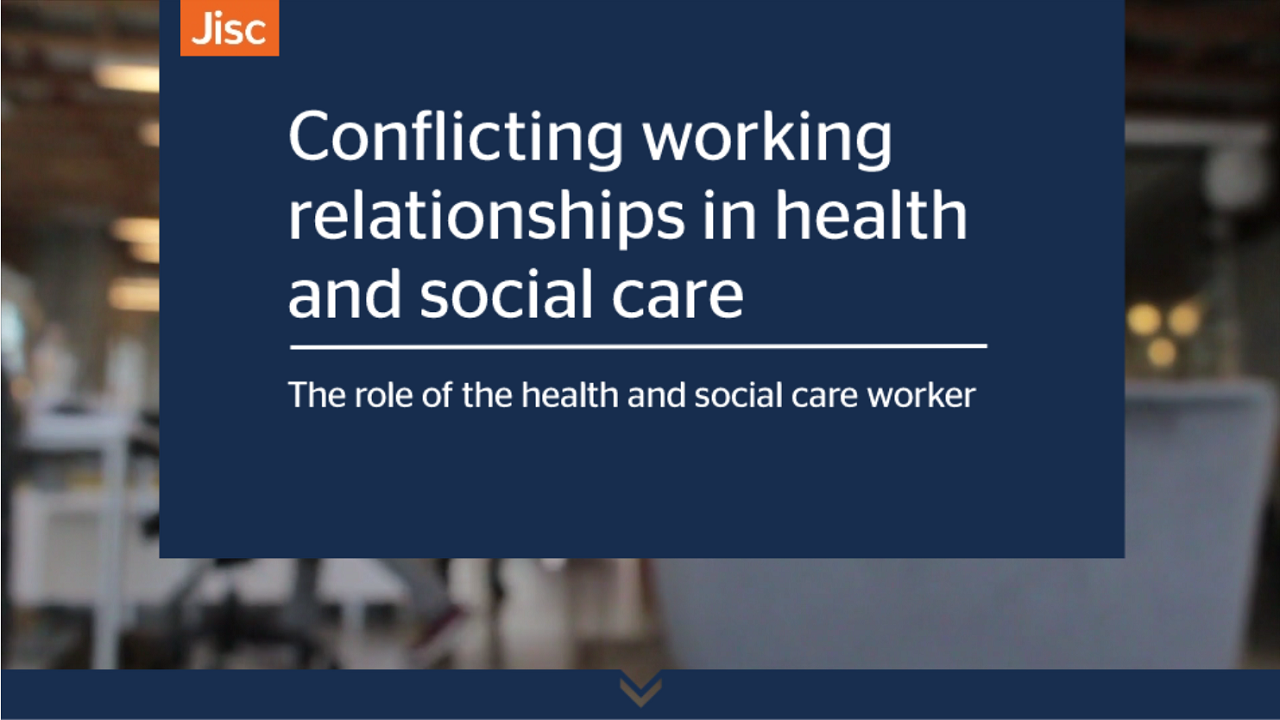 Conflicting working relationships in health and social care activity thumbnail