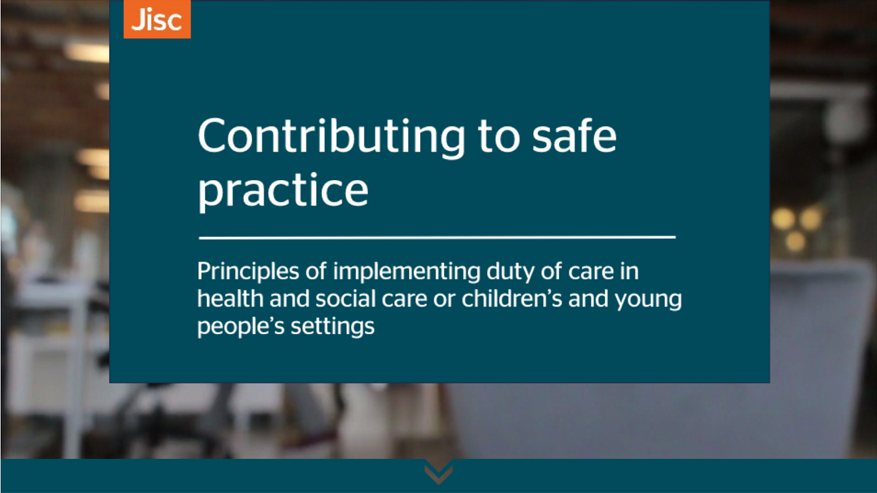 Contributing to safe practice activity thumbnail