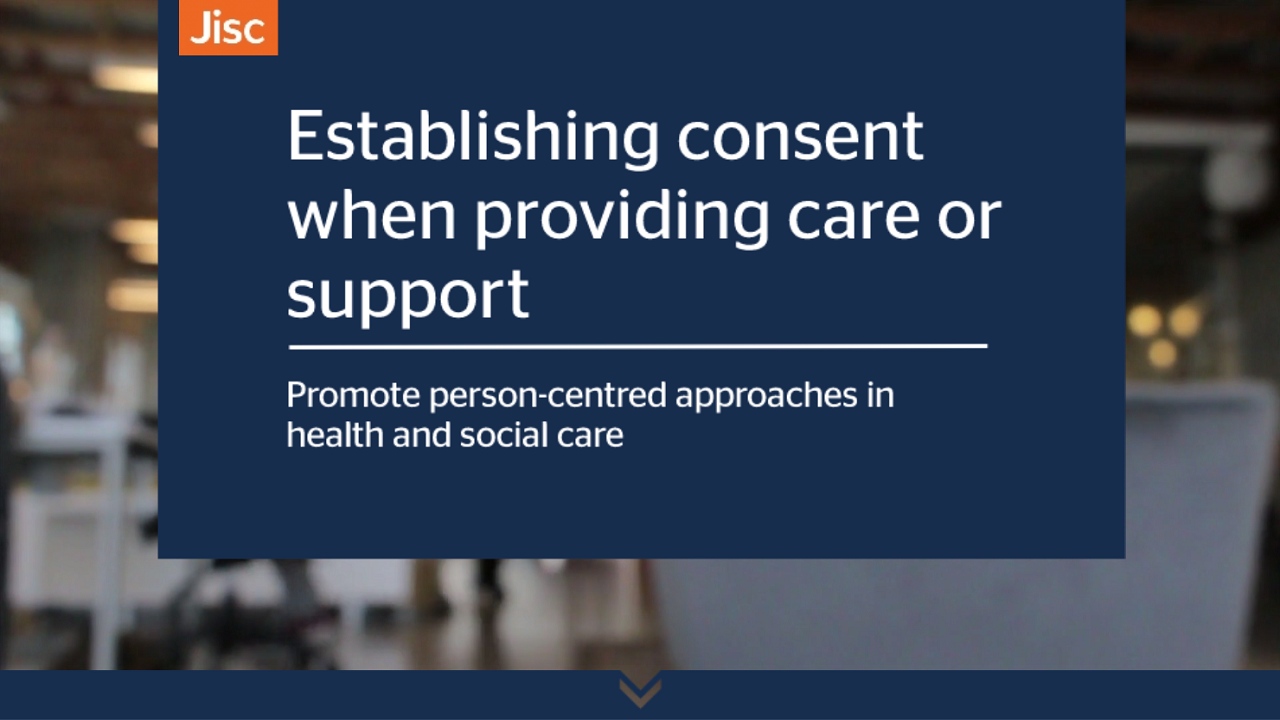 Establishing consent when providing care or support activity thumbnail