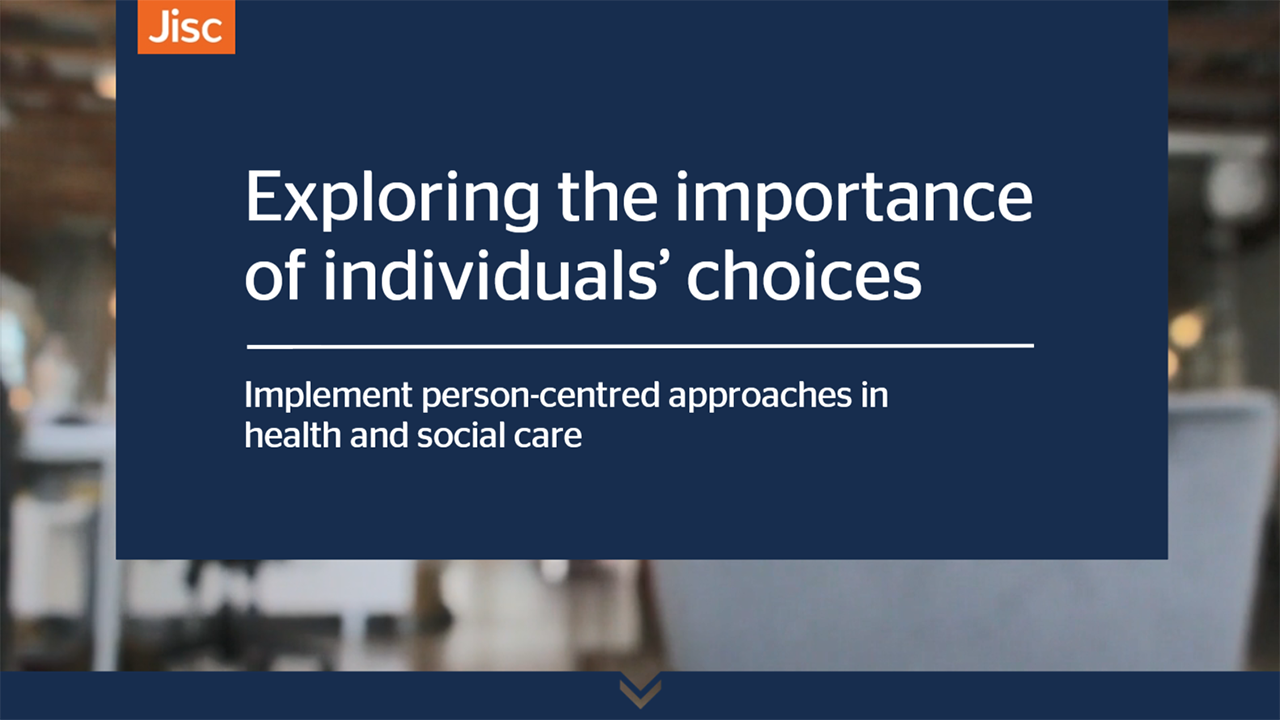 Exploring the importance of individuals' choices activity thumbnail