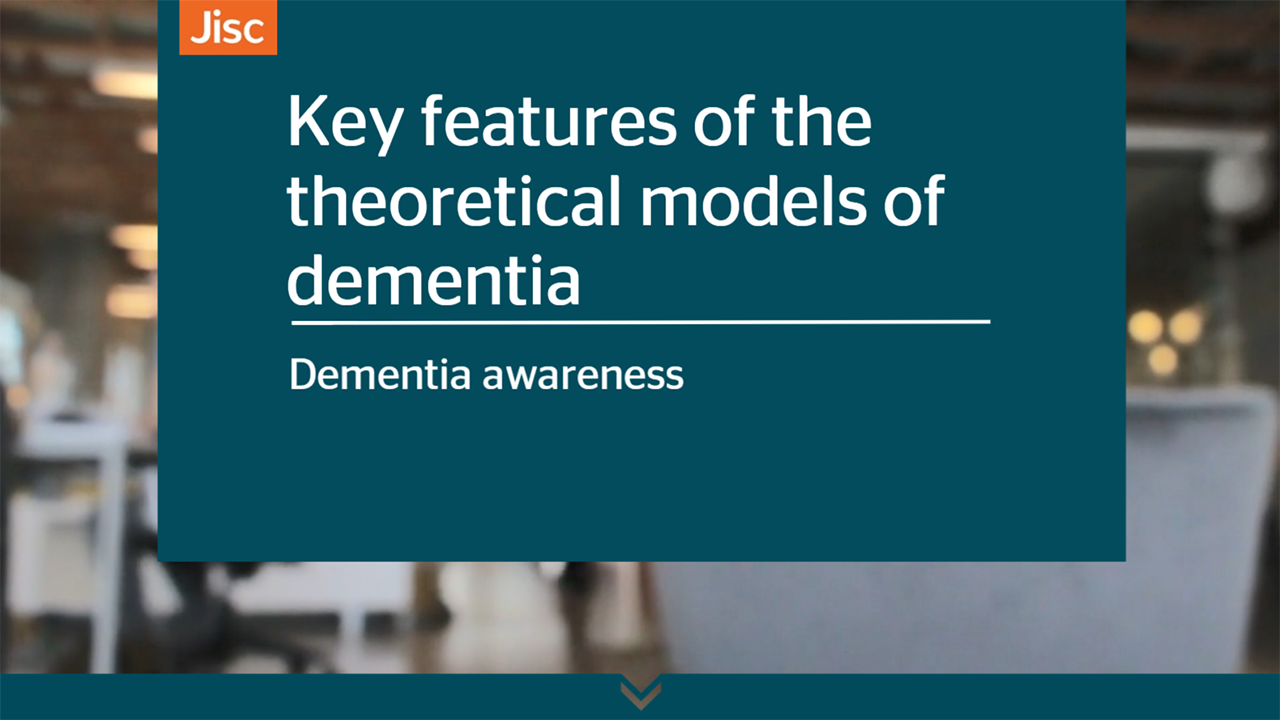Key features of the theoretical models of dementia activity thumbnail