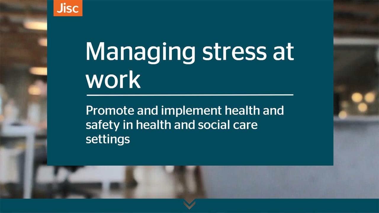 Managing stress at work activity thumbnail