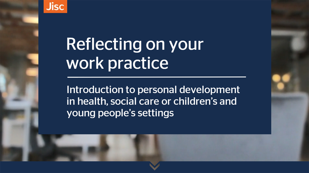 Reflecting on your work practice activity thumbnail