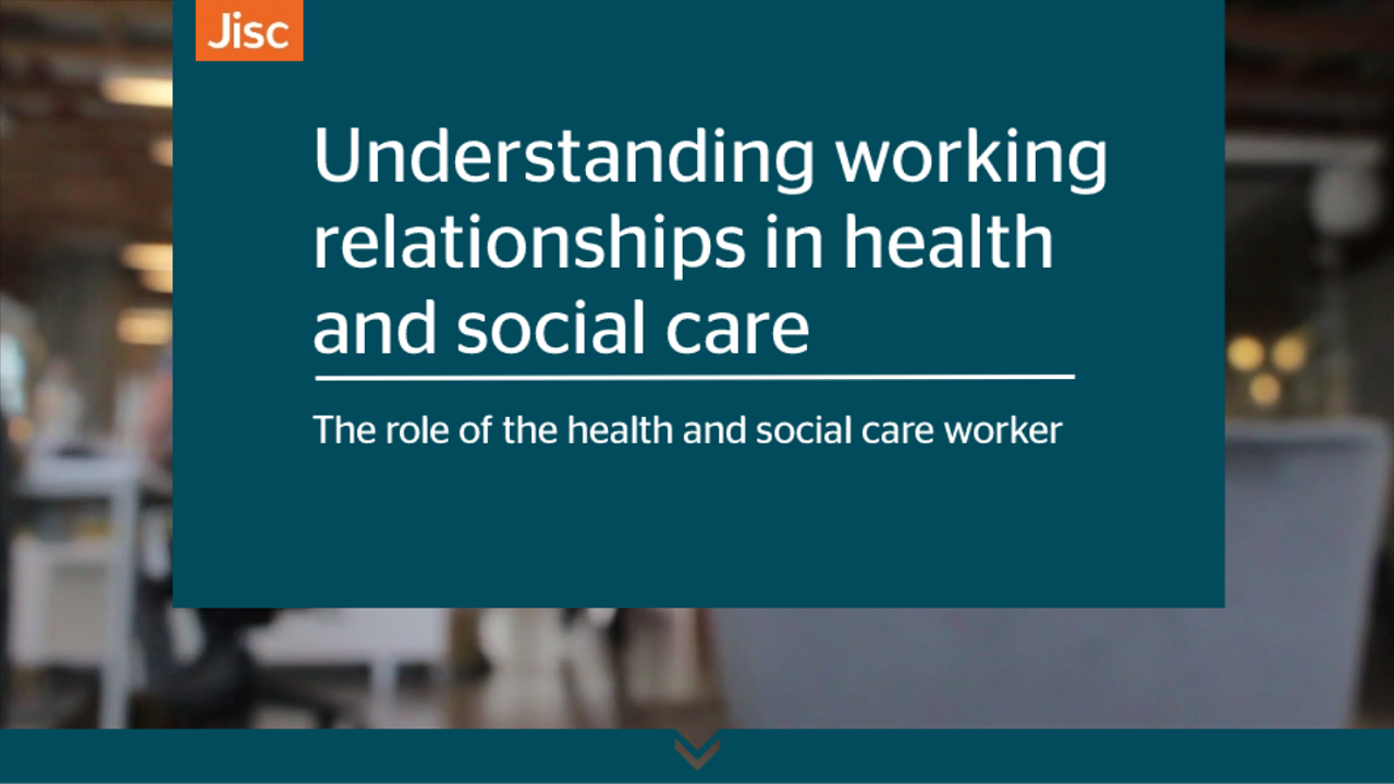 Understanding working relationships in health and social care activity thumbnail
